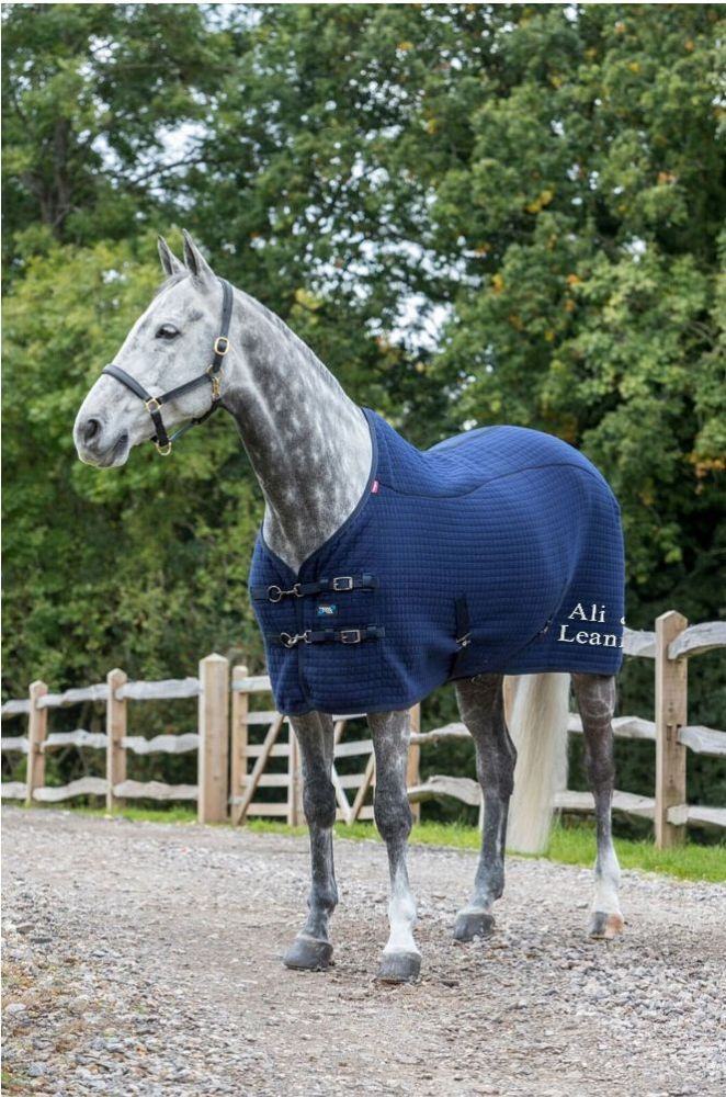 Navy LeMieux Thermo-Cool Rug